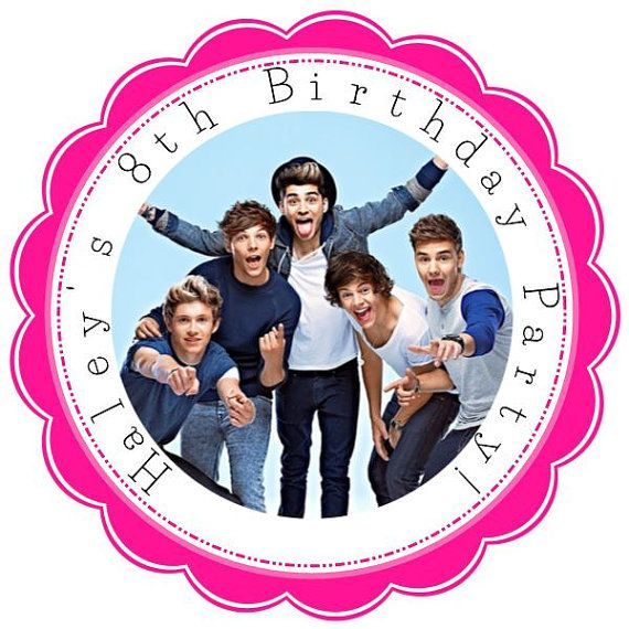 One Direction  1D  Personalized Stickers  by KiddieCreations1, $5.00