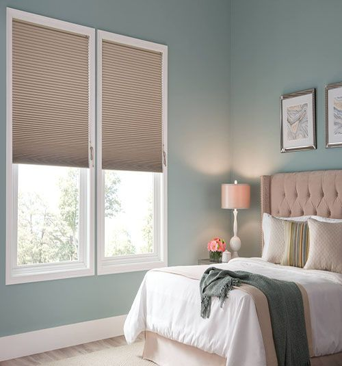Blindsgalore® Gallery Cellular Shades: Blackout