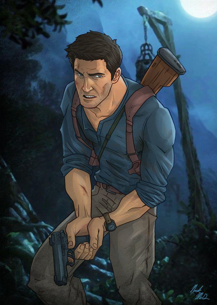 Nathan Drake By Nick Mcd Deviantart Com On Deviantart Uncharted