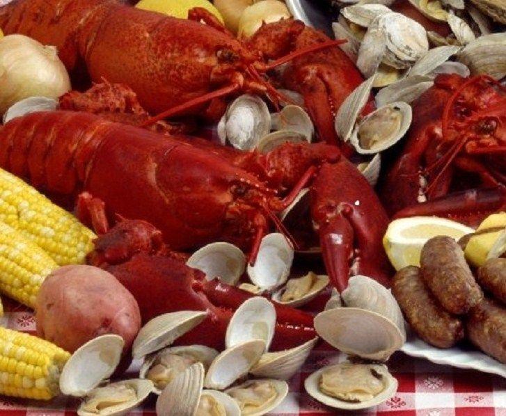 Lobster Clambake Dinner For Four Lobster Dinner Sausage