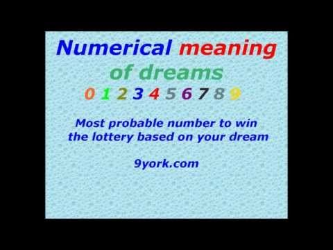 Most Probable Number To Win The Lottery Numerical Meaning Of Dreams More Info On Https 1 W W Com Lottery Most Probable Number To Win The Lottery Numeric