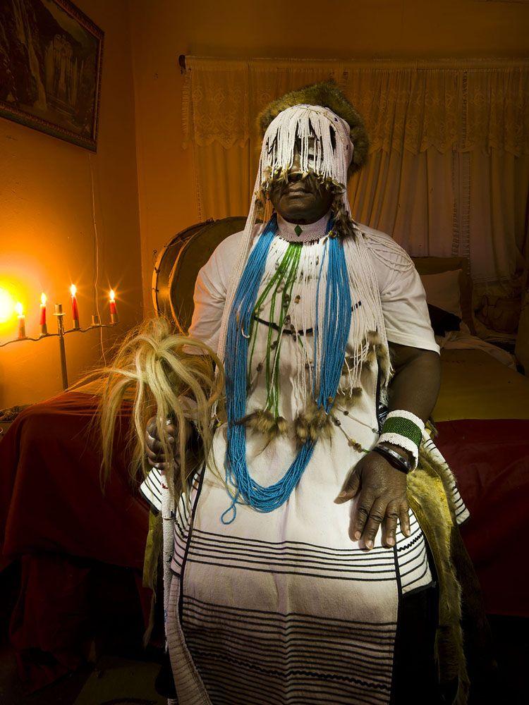 Sangoma fine-art-print traditional healer, cape town