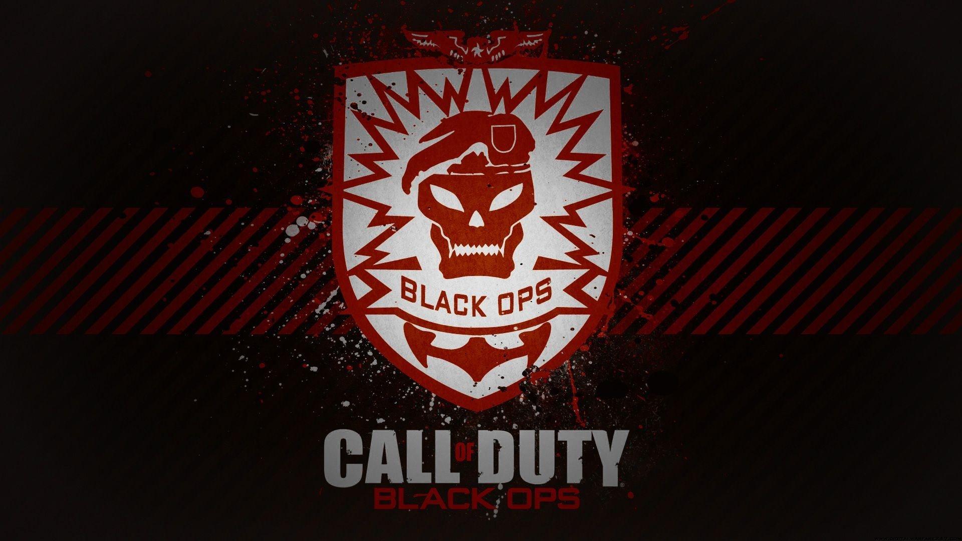 Call Of Duty Black Ops Logo Wallpaper Hd