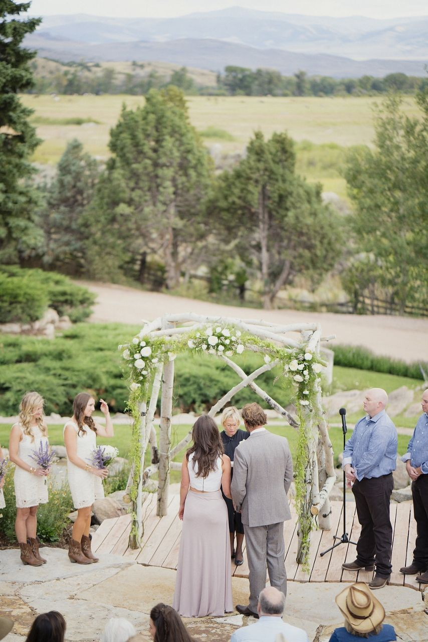 Nature Inspired Dream Ranch Wedding Brush Creek Wyoming Photo By Otto Schulze