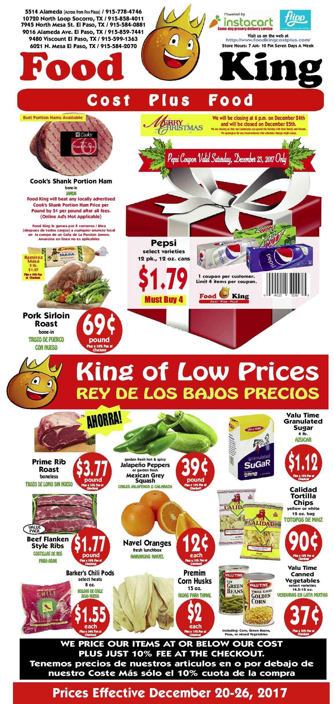 Food King Weekly Ad El Paso Tx : weekly, Weekly, December, Http://www.olcatalog.com/food-, King/food-king-weekly-ad.html, Food,, Foods
