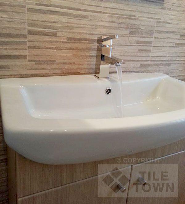 Montana Beige Bathroom Wall Tile. Montana Is A Truely Innovative Range Of  Tiles That Uses