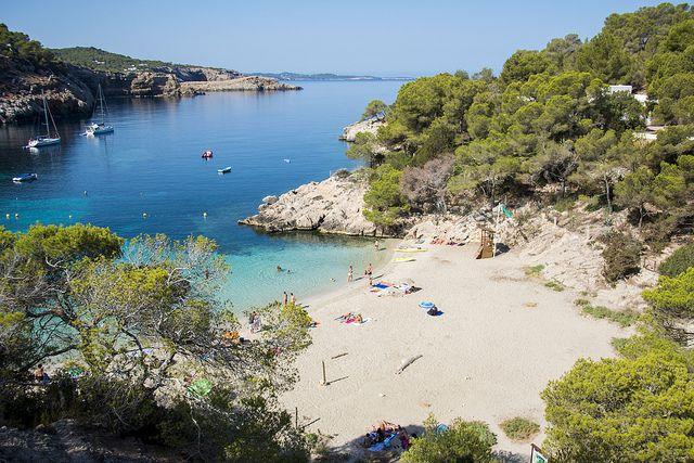 Cala Saladita Ibiza Spain