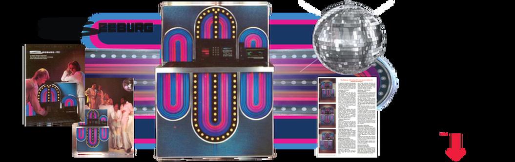 "Seeburg STD4 160 ""Mardi Gras"" (1977) Service Manual & Brochures"