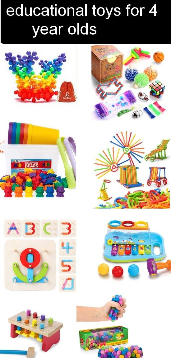 17 Top Best Educational Toys For 4 Year Olds Kids 2019 ...