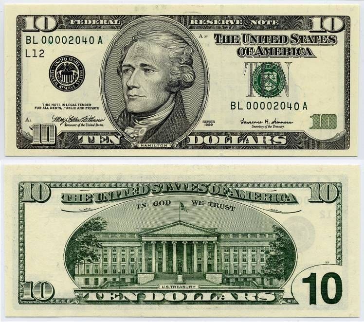 Fed List In Bills With Images Illuminati 10 Dollar Bill