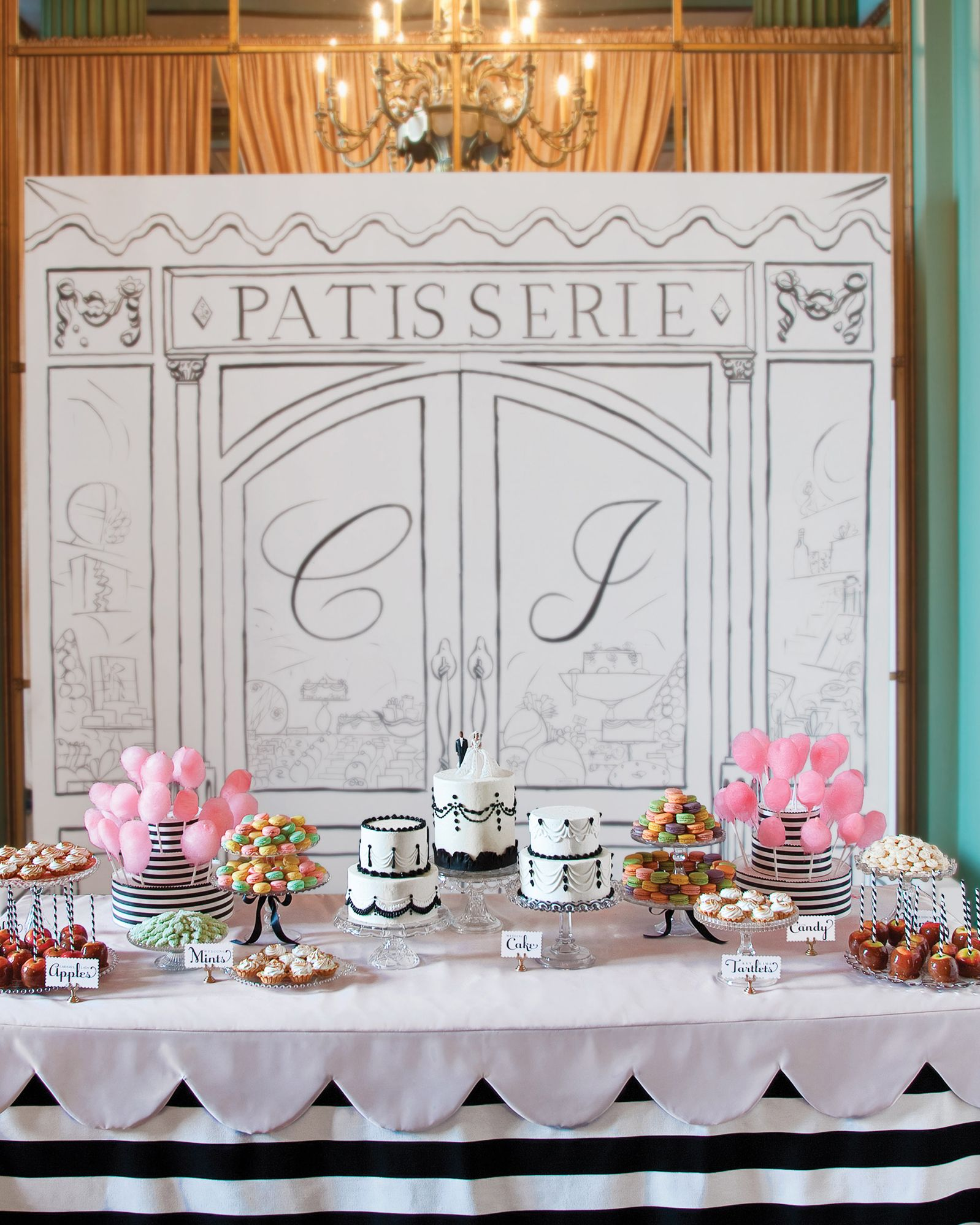 Dessert Table Ideas from Real Weddings   Paris party ...