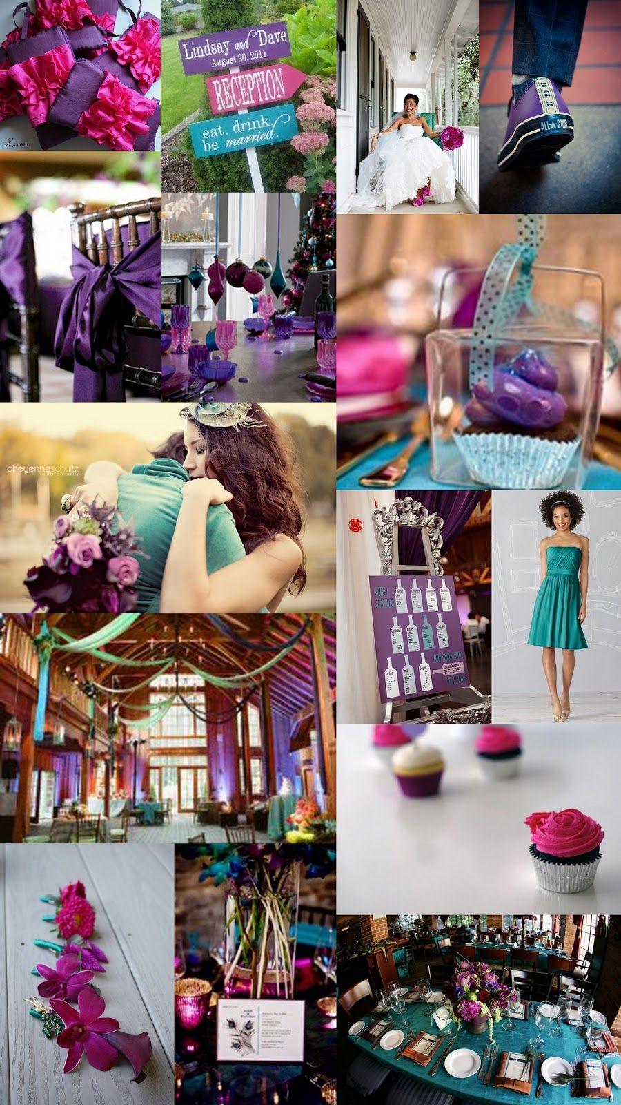 teal_magenta_fuschia_jewel_tone_Wedding_inspiration_board_valerie.jpg 900×1,600 pixels