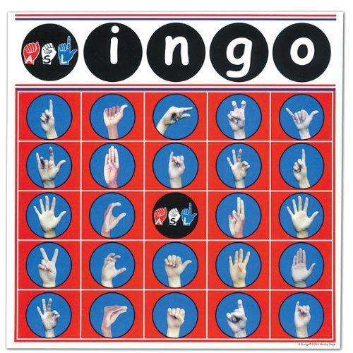Fun American Sign Language Game List