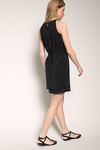 Esprit - Partykleid mit Zierborte im Online Shop kaufen ...