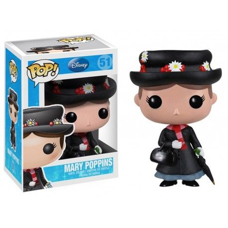 Mary Poppins POP! Vinyl Figure Mary Poppins 10 cm