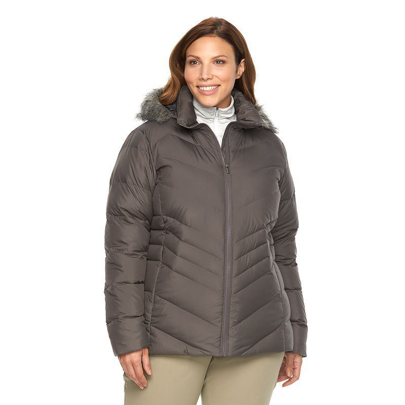 Plus Size Columbia Icy Heights Hooded Down Puffer Jacket  7bdbe535efcd