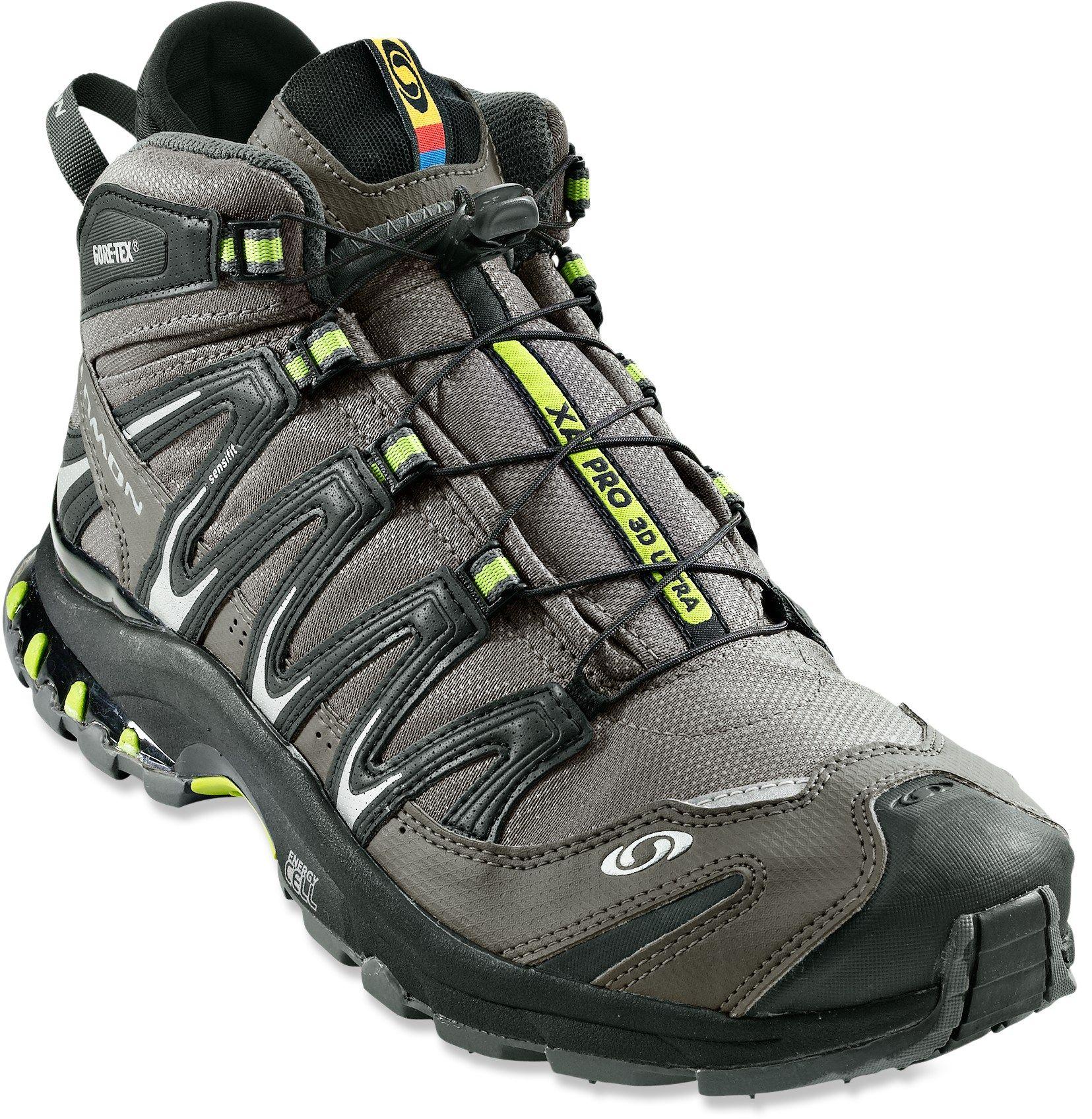 Salomon Xa Pro 3d Mid Gtx Ultra Hiking Boots Men S Rei Co Op Hiking Boots Boots Salomon Shoes