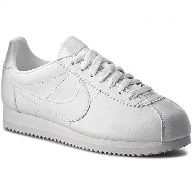 3cbc9a71f Topánky NIKE - Classic Cortez Leather 807471 102 White/White ...
