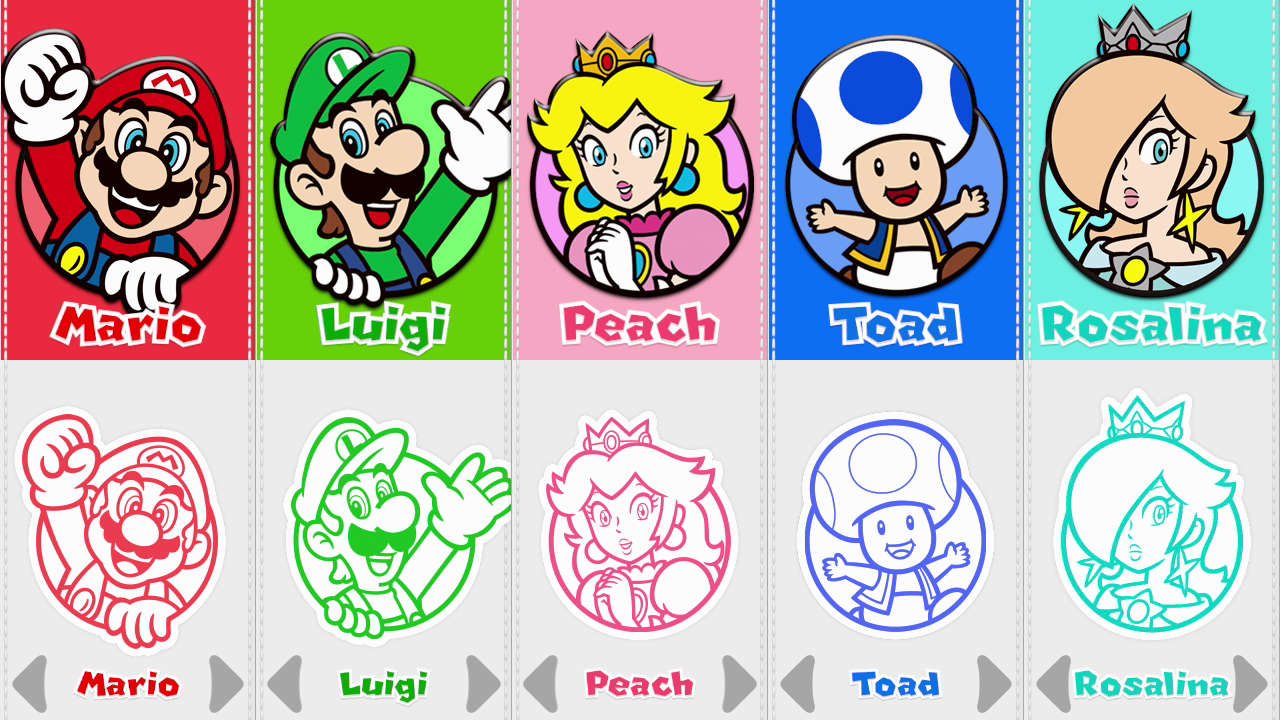Mario luigi power ups coloring pages google search for What color is mario