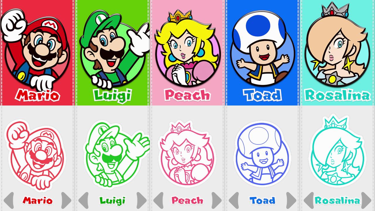 Sm3dw Character Portraits Png 1280 720 Mario3dworld Wiiu Super Mario Bros Mario Bros Mario