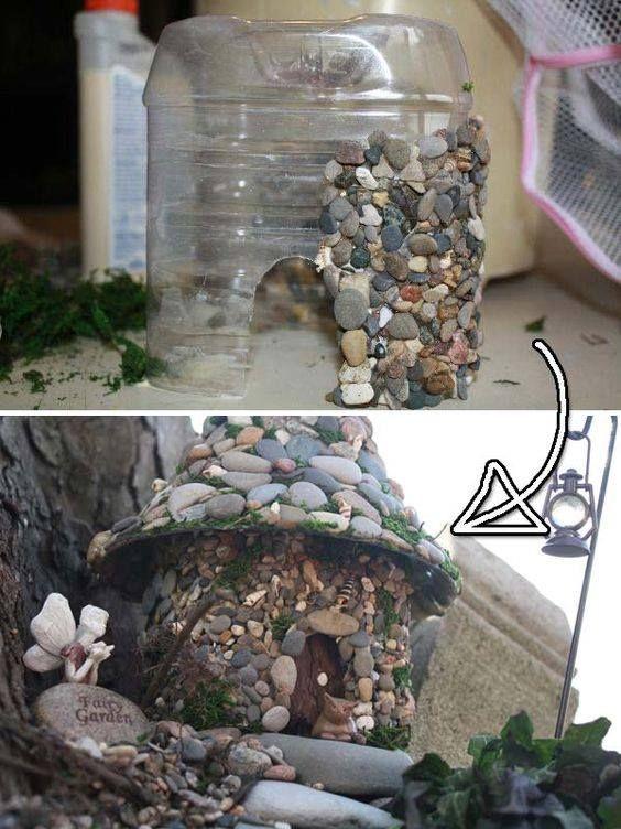 Casita del bosque para mi jard n ideas pinterest for Decoracion jardin gnomos