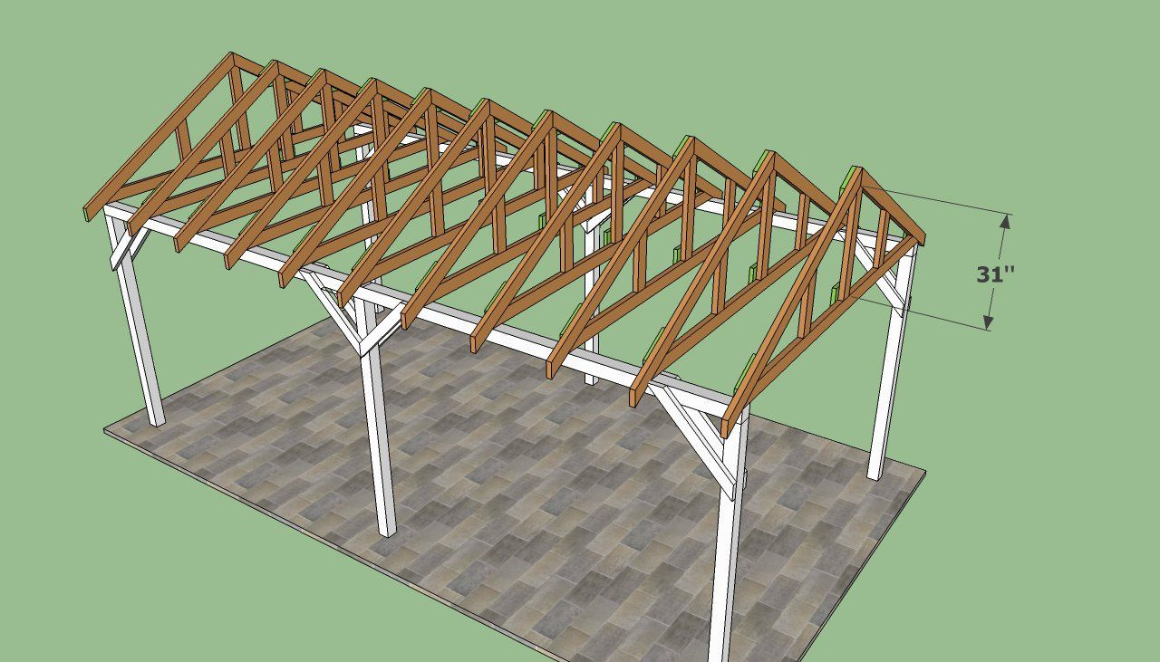 Carport Roof Plans My Pinterest Brd Pinterest Roof Plan