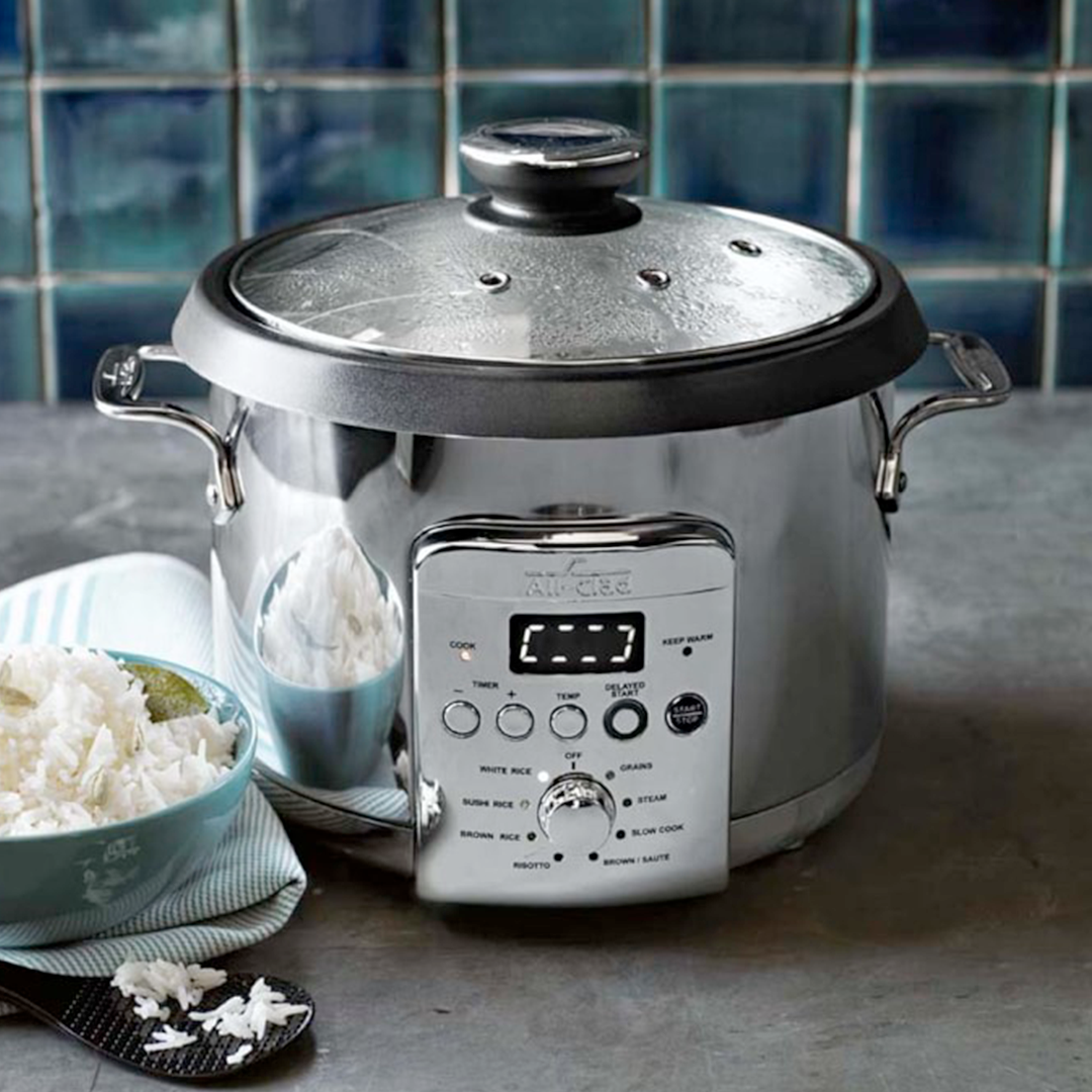 The New All Clad Electric Rice Grain Cooker Specializes In