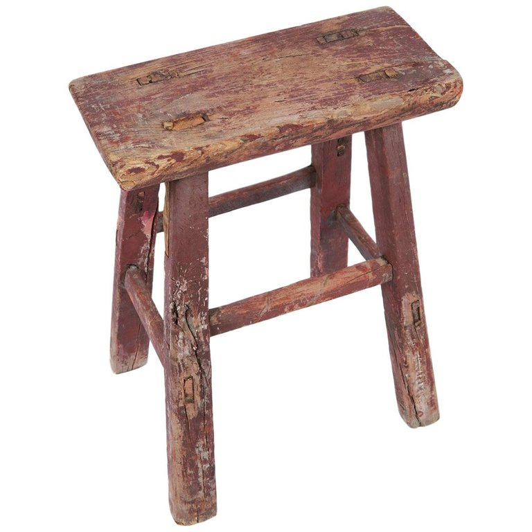 Prime Vintage Italian Wooden Stool Products In 2019 Wooden Bralicious Painted Fabric Chair Ideas Braliciousco