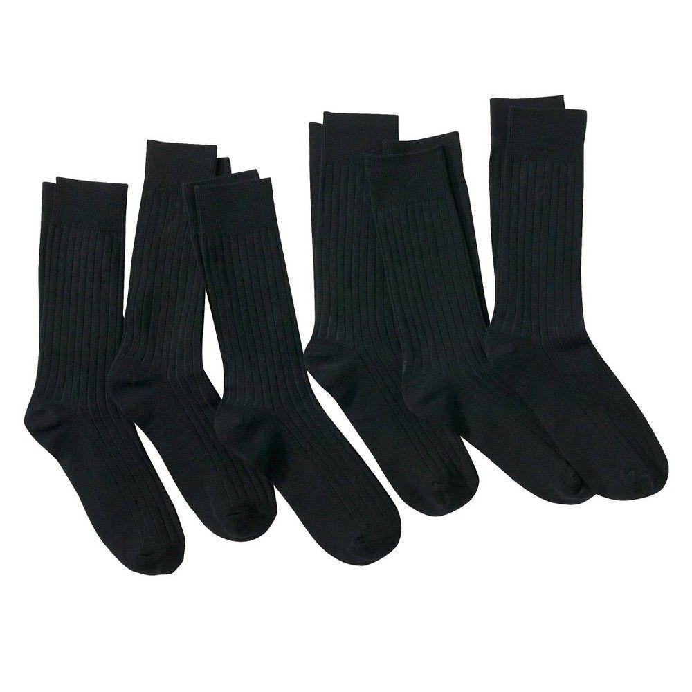Men S 6pk Dress Socks Merona Size Small Black Dress Socks Mens Dress Socks Socks [ 1000 x 1000 Pixel ]