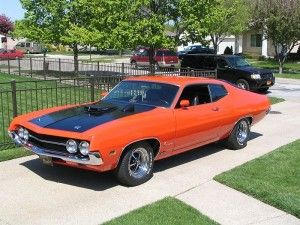 '70 Ford Torino Twister Special  V8 Cobra 7,0 L 429 Cu . Only 90 made