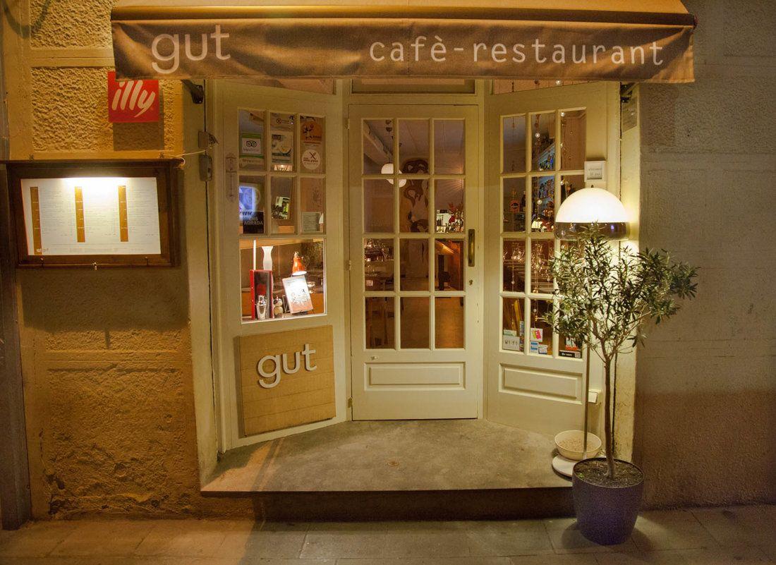 Restaurant Gut Restaurant, Barcelona restaurants, Cafe