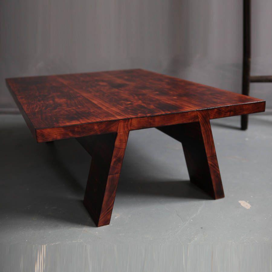 Charmant Cherry Wood Coffee Table