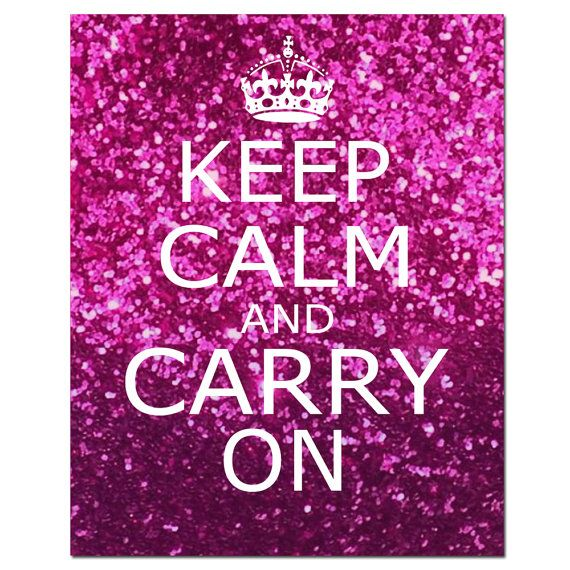 Keep Calm and Carry On  8 x 10 Inspirational Popular by Tessyla, $20.00