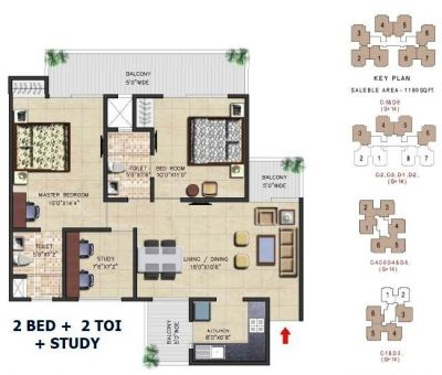 Floor Plan Of Nirala Aspire Greater Noida West Realty Times Floor Plans Residential Complex How To Plan