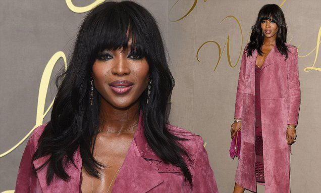 Remarkable naomi campbell jerk off excited too