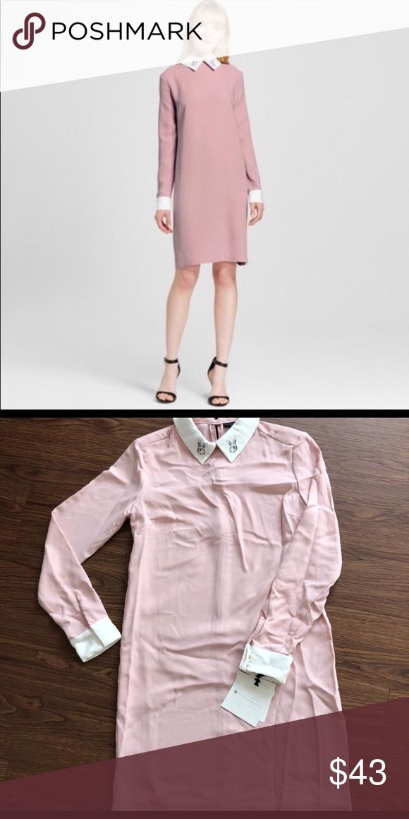 c7b7ea5b2078b NWT Light pink VICTORIA BECKHAM bunny rabbit dress NWT!!!!Light pink  VICTORIA