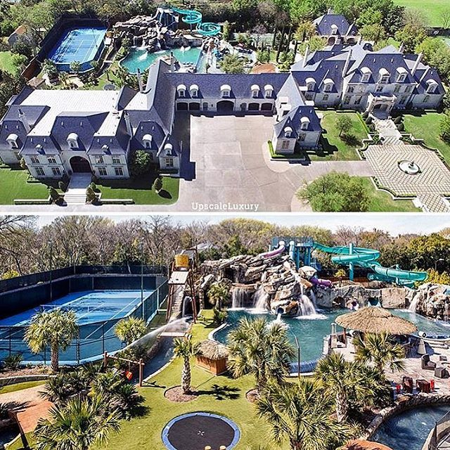Most Amazing Estate Ever? Mega Mansion With A Water Park