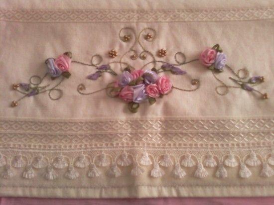 Nakış Örnekleri >> havlu nakışı