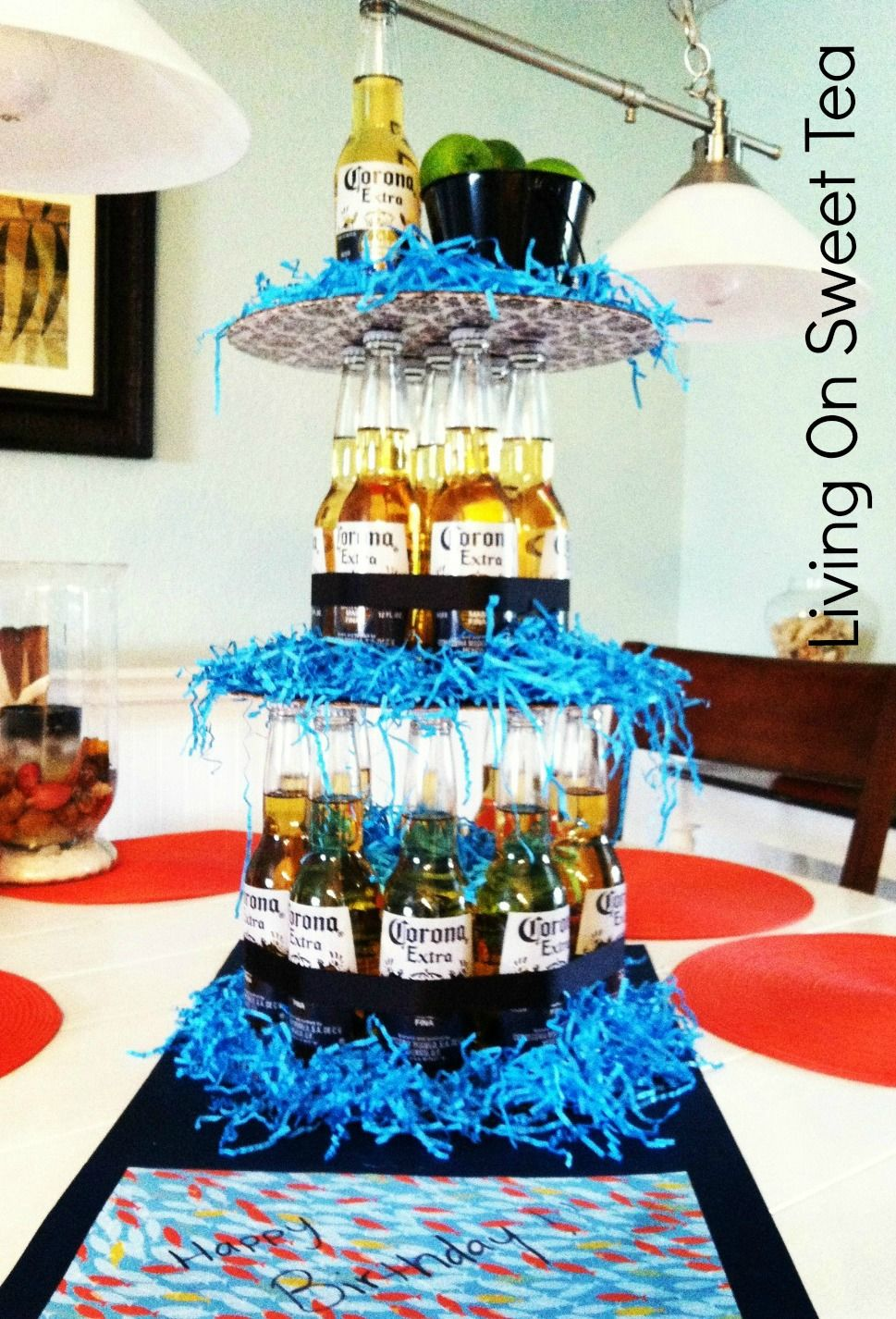 Liquor Bottle Cake Decorations Livin' On Sweet Tea Birthdays  Recipes  Pinterest  Sweet Tea