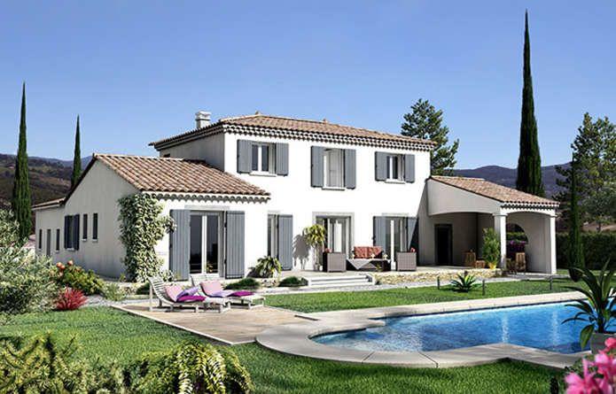 CASTELLET Génoise est une Maison Provençale entièrement