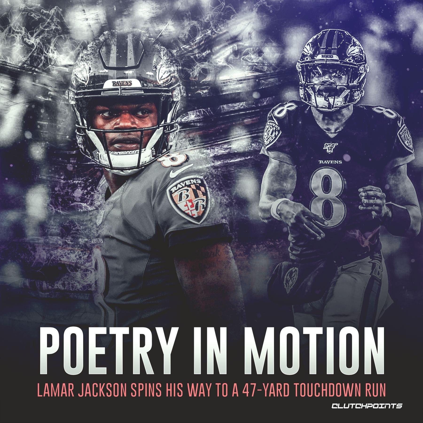 Lamar Jackson Spins His Way To A 47 Yard Touchdown Run Lamar Jackson Jackson Lamar