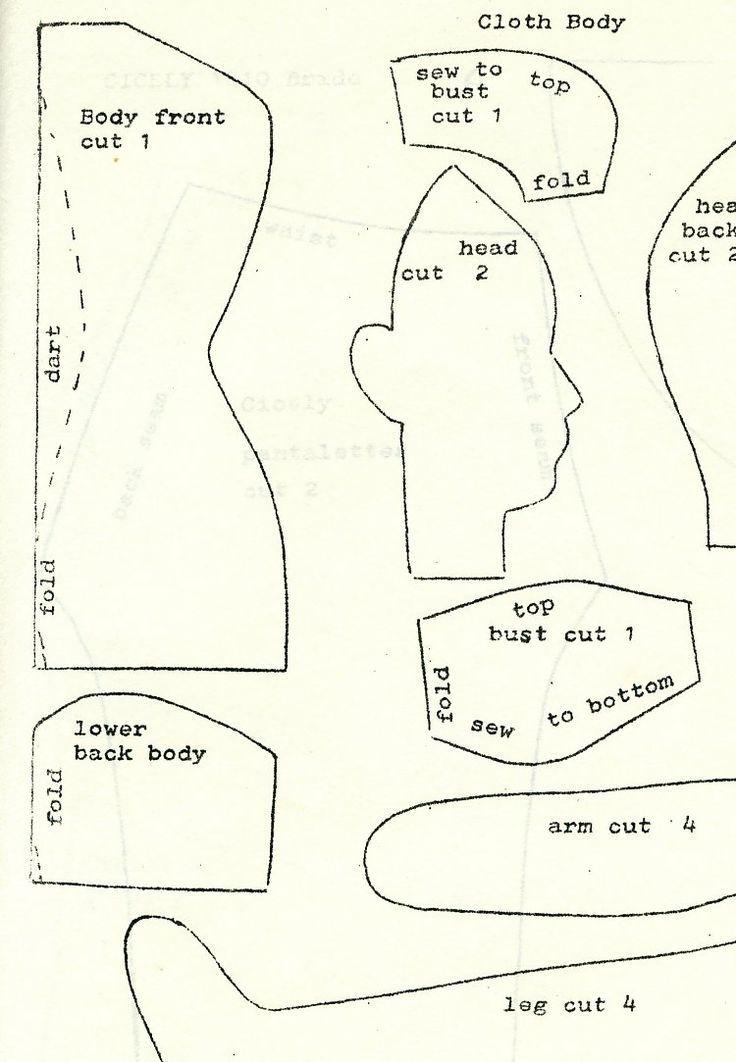 New+Free+Cloth+Doll+Patterns   Ella\'s Original Doll Pattern #41 ...