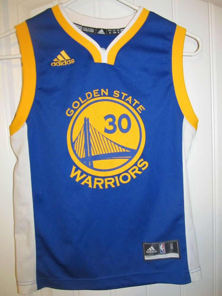 f1920f2acee6 Stephen Curry - Golden State Warriors Jersey - Adidas youth Small  adidas   GoldenStateWarriors