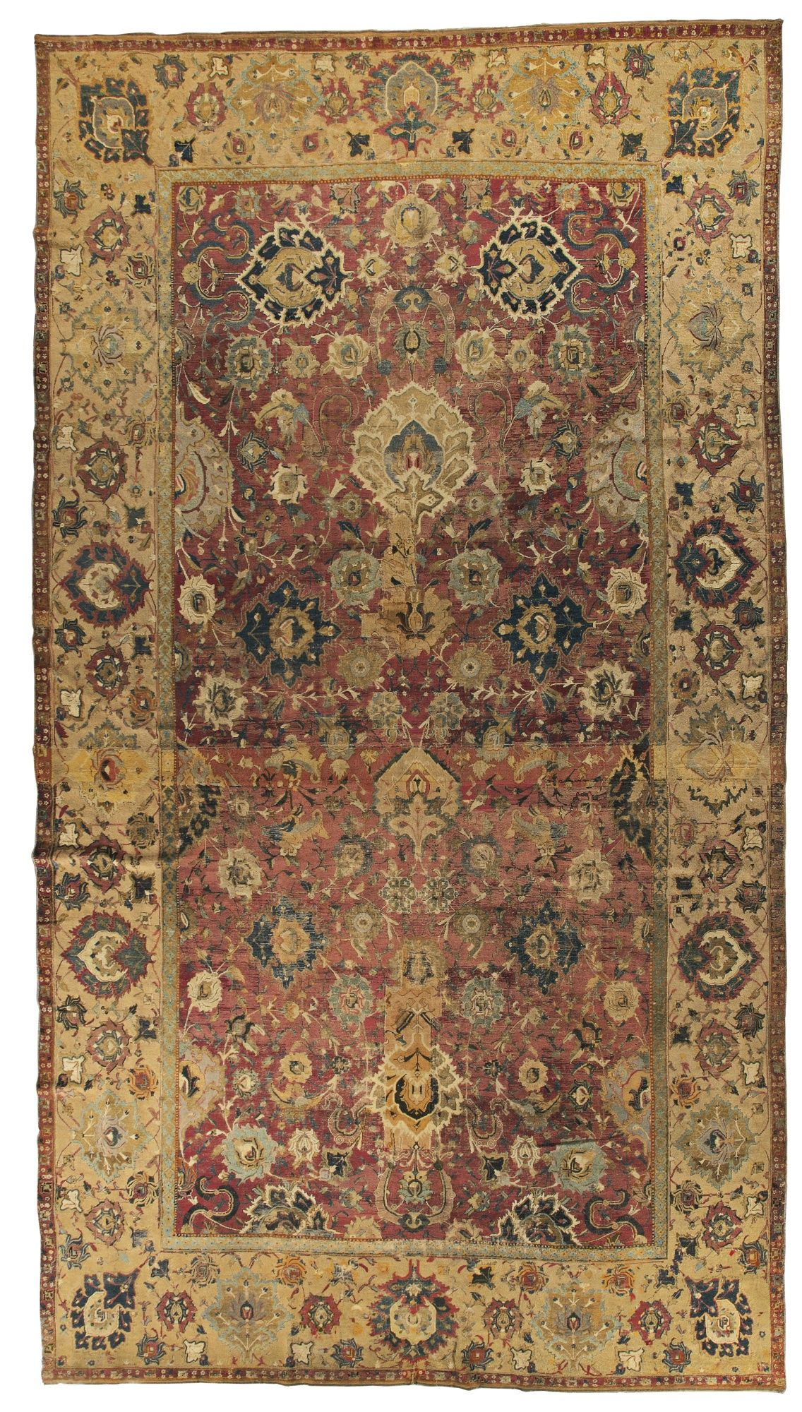 An Isphahan Carpet, Central Persia lot Sotheby's Tappeti