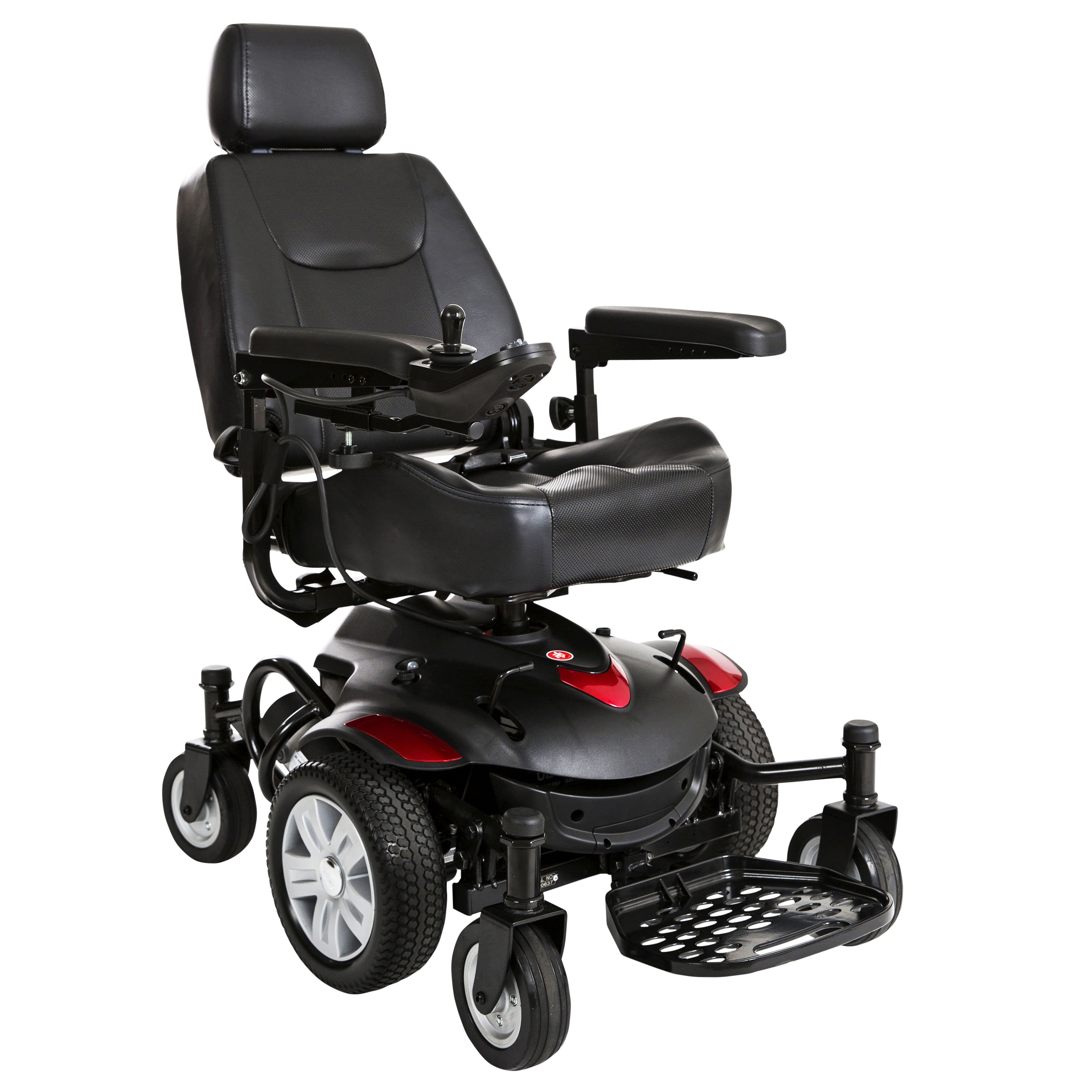 titan axs titanaxs 1616cs mid wheel power wheelchair 16 x16