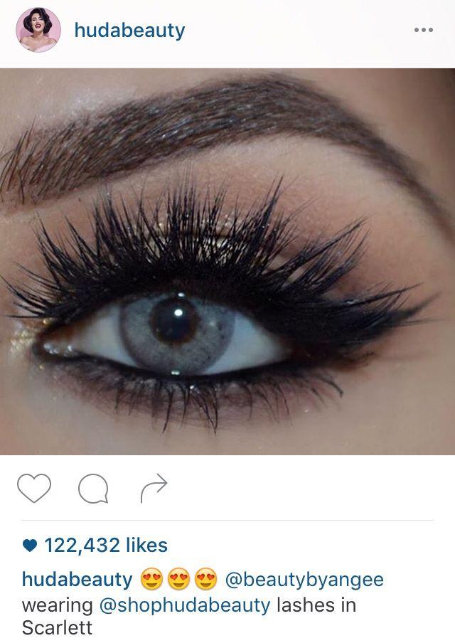 5caff3d2307 Huda Beauty 'Scarlett' lashes | Makeup | Huda eyelashes, Lashes e ...
