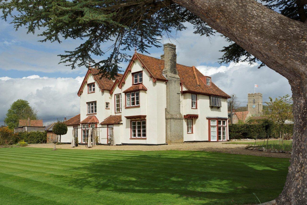 Haughley House Haughley Stowmarket Suffolk England UK