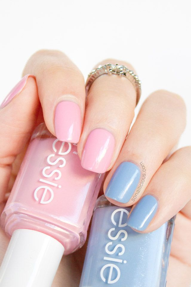 Season Of The Pastels: Essie Rock The Boat and Pink About It ...