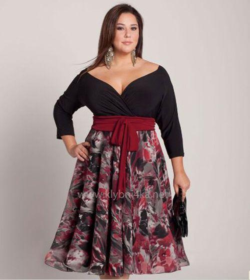 596413bdcb Patrones para hacer vestidos para gorditas