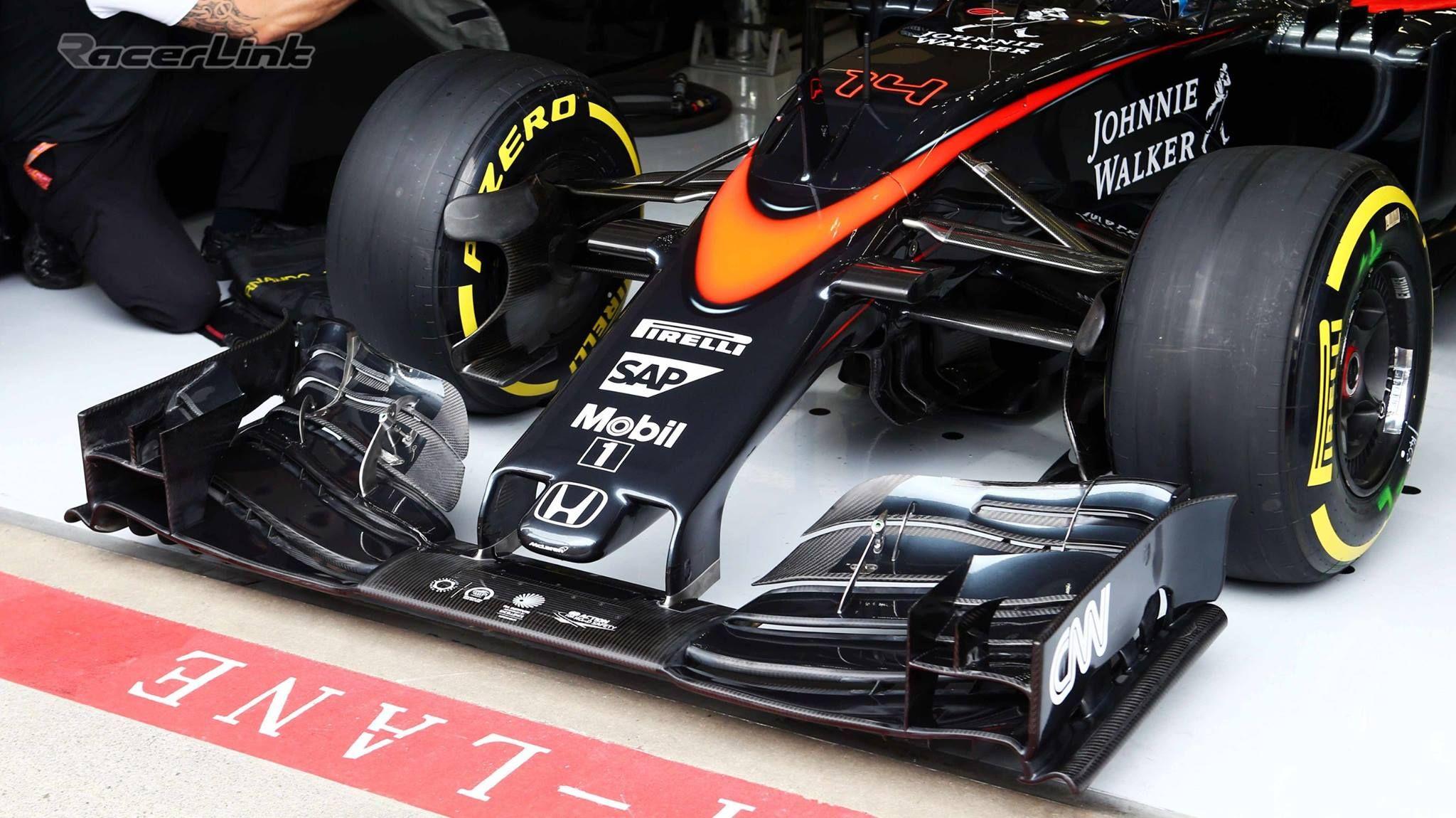 McLaren HONDA MP4-30 Update Package